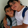 My Two Greatest Joys! : My children Alexis and Michael at their best... being themselves.
